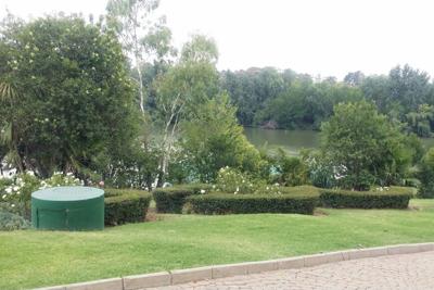 Small garden landscape